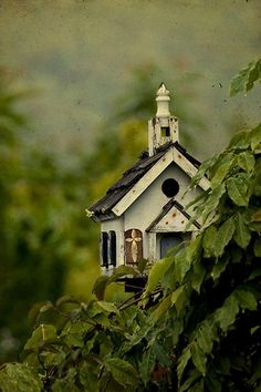 branwens-craig:    The little church in the glen  By Teresa Burnett.