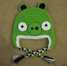 crochet angry birds hat - Google Search