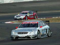Mercedes CLK DTM race car