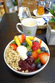 My Favorite Food, Favorite Recipes, Vacation Resorts, Breakfast Bowls, Acai Bowl, Hawaiian, Sweets, Drink, Fruit