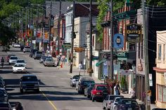 Come visit trendy Locke Street.nestled close to the escarpment for great antique stores, boutiques, restaurants, gift stores and coffee shops. Great place to meet a friend. Ontario City, Ontario Place, Wonderful Places, Great Places, Art Gallery Of Hamilton, Hamilton Ontario Canada, Best Sites, Places Around The World, Cool Places To Visit