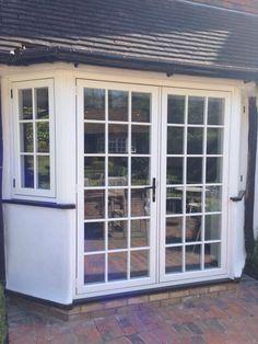 French Doors, Terrace, Garage Doors, Villa, Windows, Outdoor Decor, Home Decor, Balcony, Patio