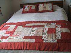 Piecera y Cojines Bad Cover, Bed Runner, Quilt Bedding, Ideas Para, Labor, Quilts, Blanket, Fabric, Bedrooms