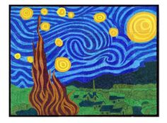 My Starry Night collaborative art project is great for schools and any group that wants to create something special by working together.