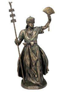 African God of Creation and Man Kind Obatala Statue Orisha Voodoo Yoruba Santeria - The King of the White Cloth $64.40