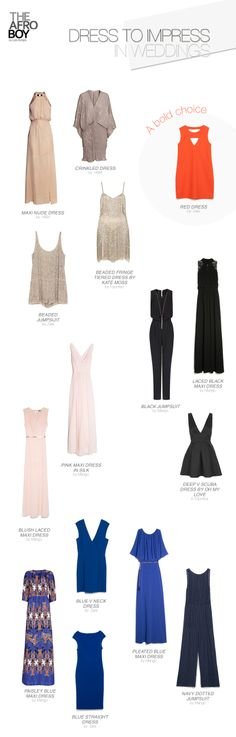JUST FOR GIRLS: DRESS TO IMPRESS IN WEDDINGS
