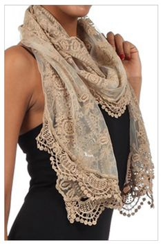 Paris rags scarf, bought one almost exactly the same in St. Andrews, in a soft grayed blue shade...LOVE it
