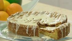 Iced orange cake recipe by Rachel Allen Baking Recipes, Cake Recipes, Yummy Treats, Sweet Treats, Citrus Recipes, How To Cook Fish, Fast Easy Meals, Breakfast Cake, Cakes And More