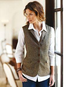 Italian Tweed Vest from The Territory Ahead