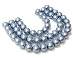 8mm Violet Glass Pearl Beads / Glass Beads / DIY Jewelry Making / Crafting / Crafty / Glass Pearls / Glass Beads / DIY Craft by vickysjewelrysupply. Explore more products on http://vickysjewelrysupply.etsy.com