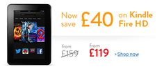 Save with these offers on Kindle Fire HD - UK