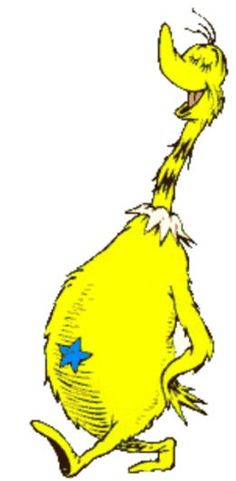 """In honor of Theodore Seuss Geisel's birthday (March 2, 1904 – September 24, 1991) , I have decided to post one of my favourite Dr. Seuss morality tales, and that is """"The Sneetches""""."""