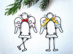 Anjelik s tyrkysom by astra - SAShE.sk - Handmade Vianoce