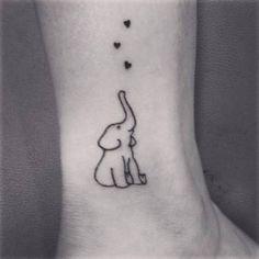 Tatouage cheville mignon - 20 idées de tatouages pour habiller nos chevilles - Elle