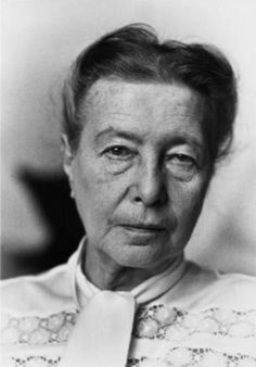 Simone de Beauvoir, French. Writer, philosopher, activist.