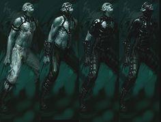 Concept Art: Vampire: The Masquerade – Bloodlines Vampire The Masquerade Bloodlines, Vampire Masquerade, Alien Isolation, World Of Darkness, Bioshock, Elder Scrolls, Dragon Age, Werewolf, Final Fantasy
