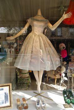 Retro Silver Dress