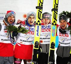 "4,416 Likes, 40 Comments - FIS Ski Jumping (@fisskijumping) on Instagram: ""Huge congratulations on the #historic first #team #gold for #poland! Fantastic performance…"""