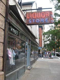 J Crew Liquor Store  Tribeca