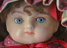 Antique Wax, Antique Dolls, Head & Shoulders, Collector Dolls, Vintage Wood, My Etsy Shop, Carving, Antiques, Handmade