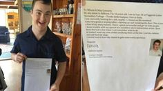 А 16-летний подросток с синдромом Дауна был завален предложениями работы после…