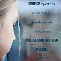 Children of divorce - be sure to read the article!