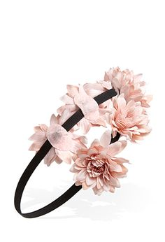 Standing Floral Headband | Forever21 - 1000101458