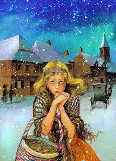 John Patience   ILLUSTRATION | The Little Match Girl