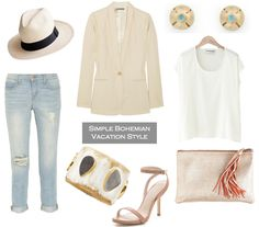 Simple Bohemian Style