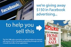 90 Day FREE Trial for Agents & Brokers, plus $150 in Free Facebook advertising to the first 150 real estate professionals who respond. Email realestate@engage121.com to learn more about the trail.     No strings attached, all we ask for is  your feedback.