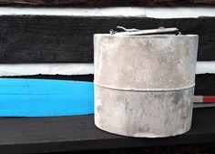 Vintage Oyster Bucket, 1900's Sealshipt East Coast; Rustic Industrial Beach / Ocean Decor by zincfineart on Etsy