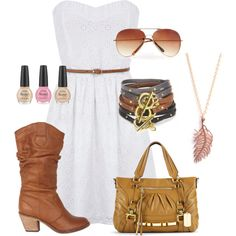 Perfect for a country concert in the summer <3