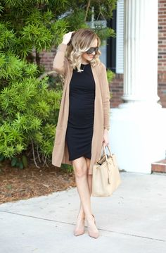 9fcb1fcf8529 LBD and my favorite Cardigan... (A Spoonful of Style). Business Casual  OutfitsMaternity ...