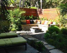 corner garden fountains - Google Search