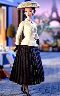 Barbie .New Look .Christian Dior .