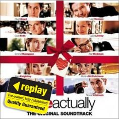 Replay CD: Various: Love Actually Love Actually, Wherever You Will Go, All You Need Is Love, My Love, Replay, Soundtrack, Things I Want, Valentines, White Christmas