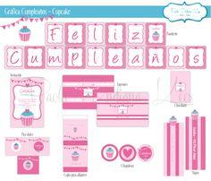 #Gráfica para #Cumpleaños #Cupcake