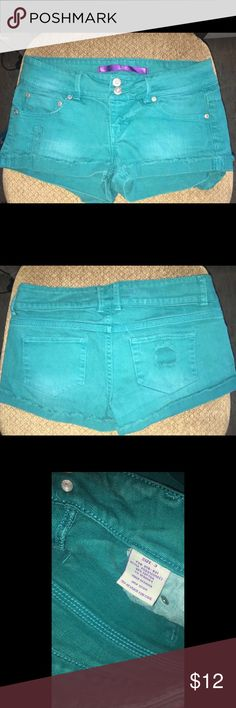 Turquoise Shorts Great condition. See photos. Shorts