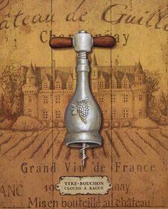 Antique Corkscrew IV Fine-Art Print by Daphne Brissonnet at FulcrumGallery.com