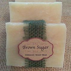 Handmade Organic Wood and Clove Bar Soap by Brown Sugar Natural Beauty on Opensky