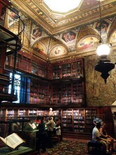 The Morgan Library #books