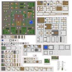 minecraft house blueprints mansion layer by layer - Google Search