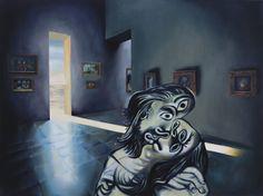 La Chambre froide de Locus Solus, 2010, huile sur toile, 97x130cm Batman, Superhero, Fictional Characters, Chill Room, Oil On Canvas, Quote, Artist, Photography, Fantasy Characters