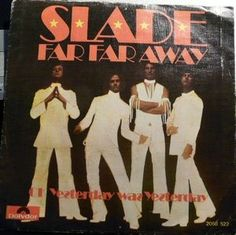 """Slade - Far Far Away (Vinyl 7"""") 1974 Portugal"""