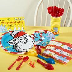 Dr. Seuss Birthday Party Supplies - BirthdayExpress.com