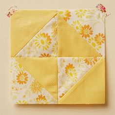 broken dishes block by penelope waits, via Flickr - tutorial for quick and easy beginners quilt block