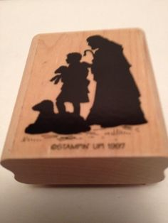 Stampin Up Nativity Scene Rubber Stamp SHEPHERDS silhouette NEW #StampinUp
