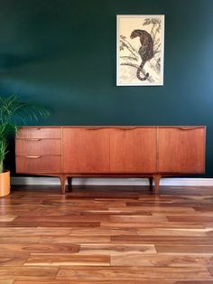 Mid Century Teak Dunvegan Sideboard by McIntosh of Kirkcaldy Retro Vintage Mid Century Modern Sideboard, Teak Sideboard, Vintage Wedding Signs, Sideboards For Sale, Retro Pictures, Vintage Interiors, Easy Home Decor, Minimalist Decor, Vintage Furniture