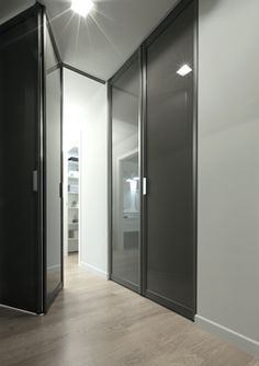 CityLife | Apartments Rimadesio: sliding doors systems, living area, complements, doors, walk-in closet