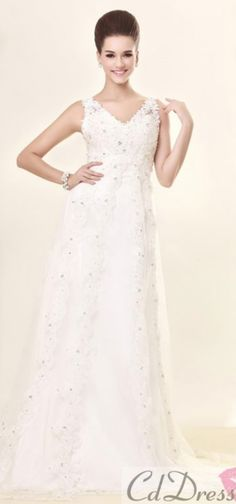 3eac4f2dc11fa lace wedding dress lace wedding dress V ネックのウェディングドレス